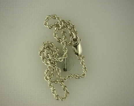14kY 8   Diamond Cut Rope Chain Bracelet [2.6g]